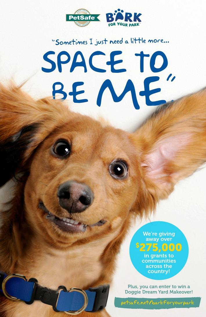 PetSafe Bark for Your Park +Yard Makeover