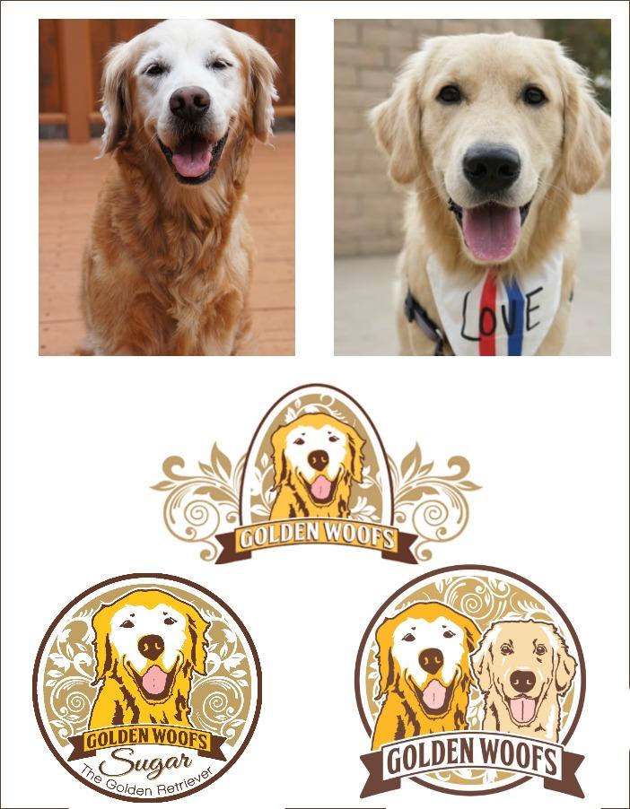 Golden Woofs Logo