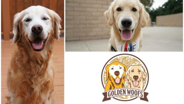 New Golden Woofs Logo