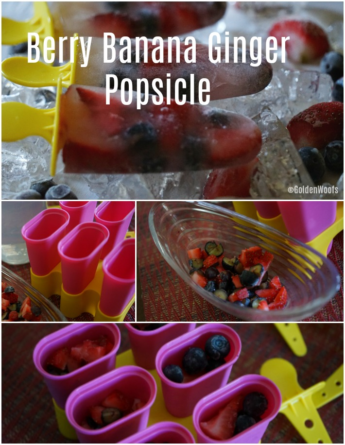 Popsicle Berry Banana Ginger