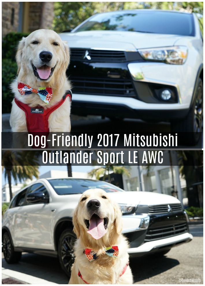 Dog-Friendly 2017 Mitsubishi Outlander Sport LE AWC