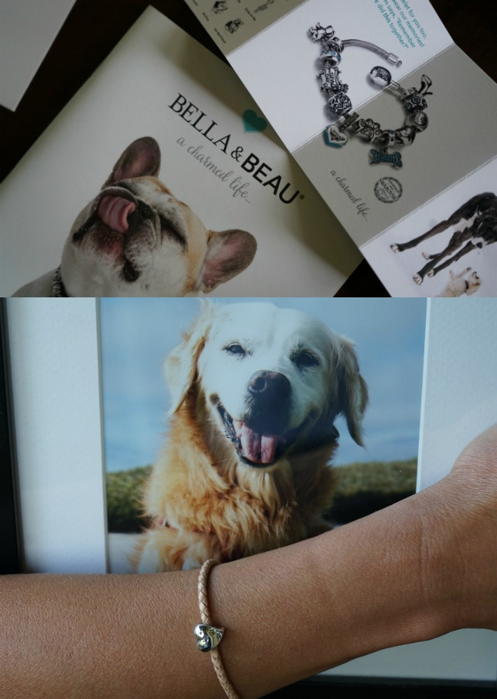 Bella & Beau charmed bracelet rainbow bridge dog