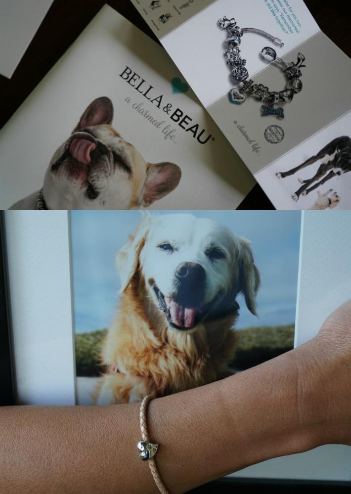 Bella & Beau charmed bracelet rainbow bridge dog