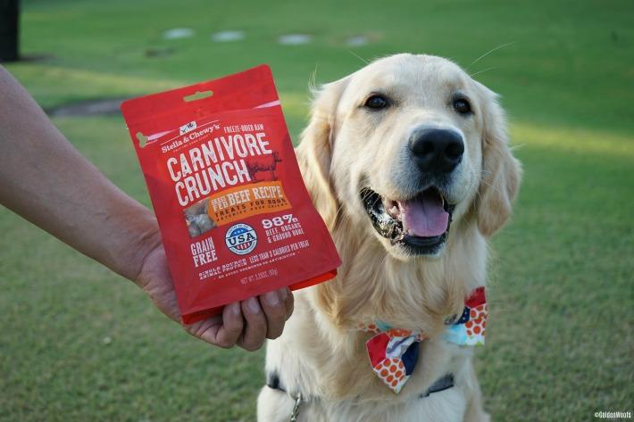Carnivore Crunch dog treats