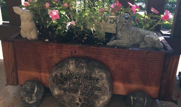 Garden Stone Pet Memorial