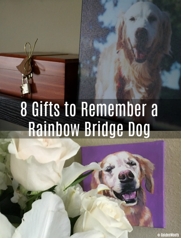 Gifts to Remember a Rainbow Bridge Dog