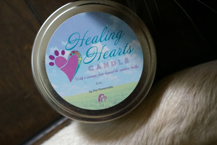 Pet Perennials Healing Hearts Candle