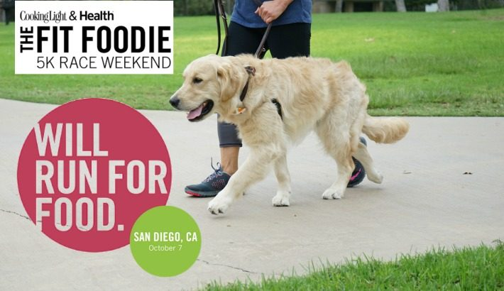 Cooking Light & Health Dog Friendly Fit Foodie San Diego #FitFoodieRun #MostDeliciousRun