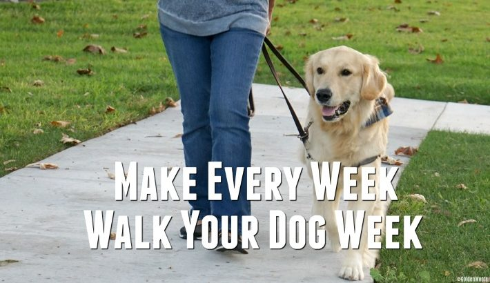 Make Every Week, Walk Your Dog Week