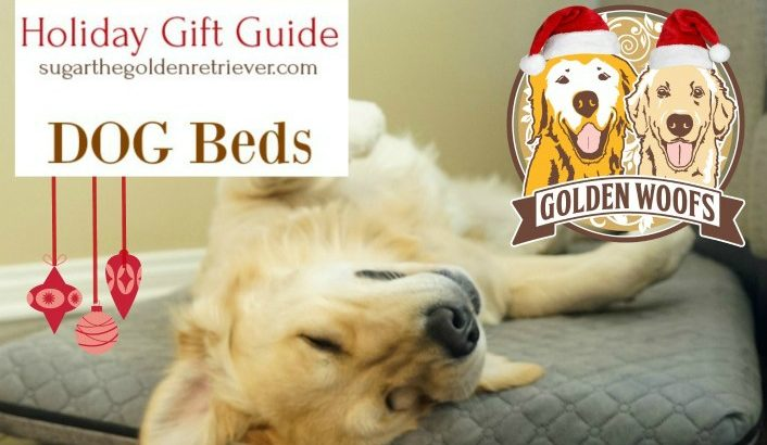 Golden Woofs 2017 Holiday Gift Guide: 6 Cozy Dog Beds
