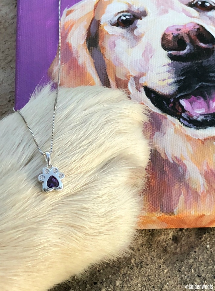 Pet Inspired Jewelry By Kay Jewelers Paw Print Necklace