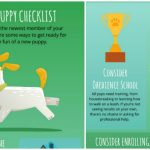 New Puppy Checklist Infographic
