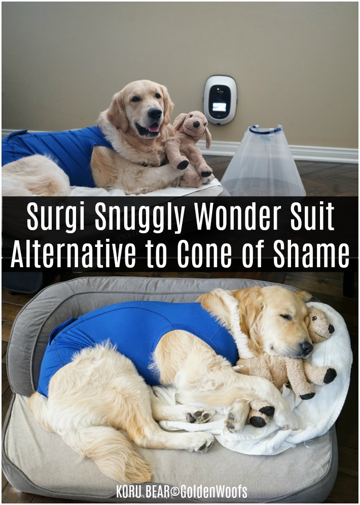 Surgi Snuggly Wonder Suit Alternative to Cone of Shame