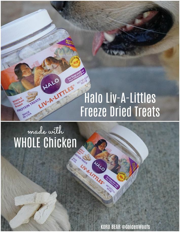 Halo Liv A Littles Freeze Dried Treats
