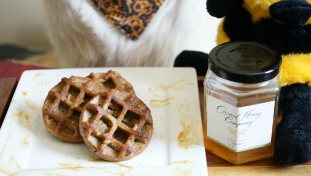Nut n Honey Dog Waffles