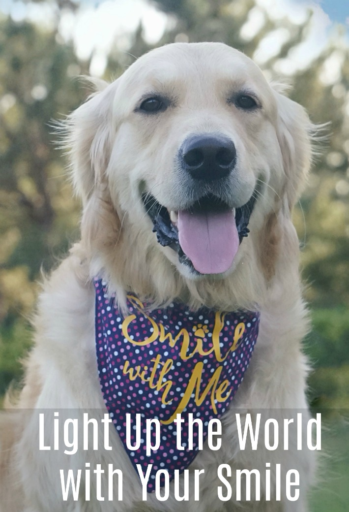 light up the world with your smile