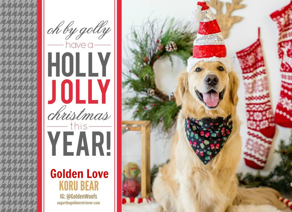 Holly Jolly Christmas - KORU BEAR Holiday Greeting 2018