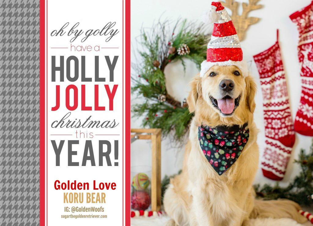 Holly Jolly Christmas - KORU BEAR Holiday Greeting 2018