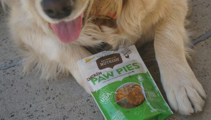 Woofs for Chicken Paw Pies #ChewyInfluencer