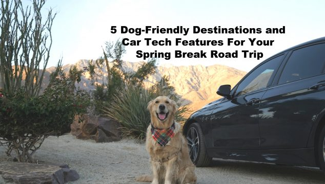 dog-friendly Spring Break destinations Autotrader car tech features