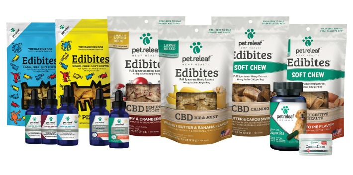 Pet Releaf CBD dog chews Hemp Oils