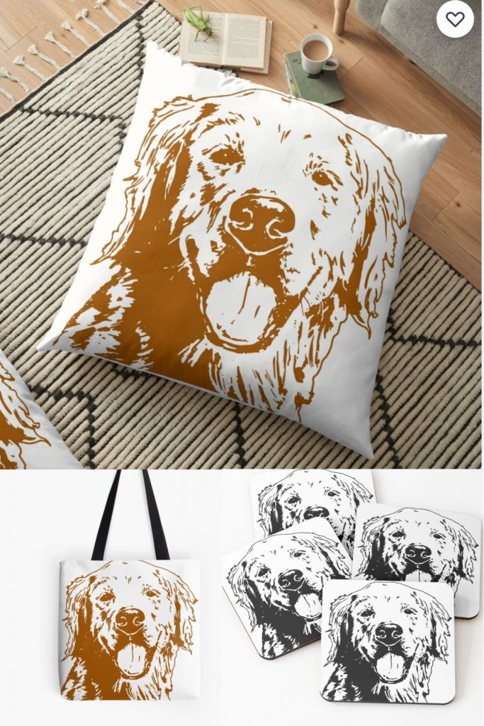 Golden Woofs Redbubble Shop