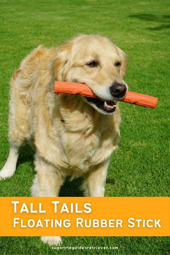 Tall Tails floating rubber stick