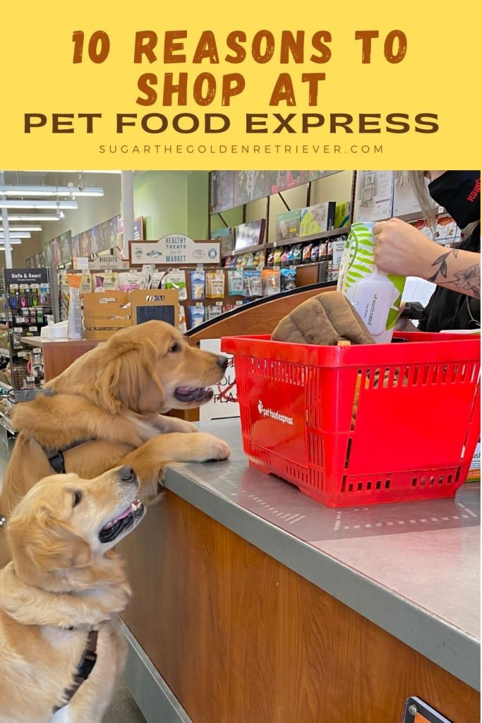 Shop at Pet Food Express pet supply store