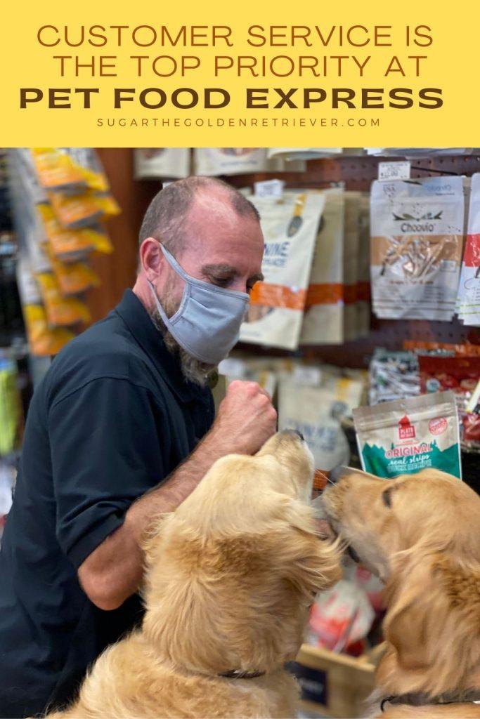 customer service Pet Food Express